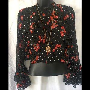 Cherry 🍒 blouse